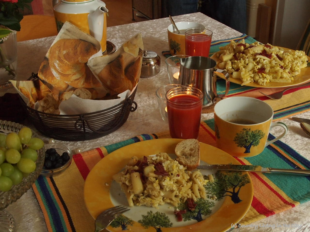 Knoblauch Einpflanzen Hessenpark Sunday Morning Eggs And More Country Living