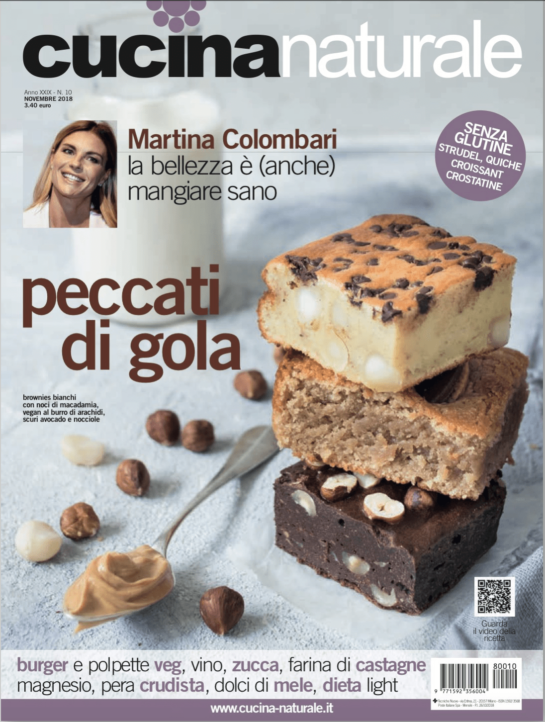 Cucina Naturale Settembre 2018 Published Commissioned Work Moniqù Photography