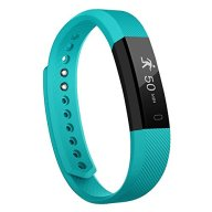 Fitness Tracker NewYouDirect Smart Watch Activity Tracker Pedometer Sweatproof Sports Bracelet with Sleep Monitor Calorie/Step Counter Bluetooth 4.0 for Android IOS9(Teal)