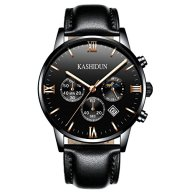 KASHIDUN Men's Casual New Wrist Watches Classic Quartz Watch Luxury Watches For Men-Black.ZH-JzHP