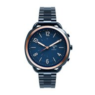 Fossil Q Hybrid Smartwatch Women's Accomplice Slim Ocean Blue Stainless Steel  FTW1203