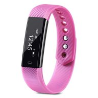 Fitness Tracker, Homogo Smart Band Activity Health Tracker with Slim Touch Screen for Step Distance Calories track, Sleep monitor, pedometer and more (Purple)