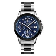Randon Mens Watches Luxury Classic Design Watch Analog Quartz Business Wristwatch with Calendar