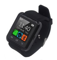 FunnTech Smart Watch with Bluetooth Pedometer Sleep Monitor Activity Tracker Fitness Tracker (Black)