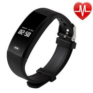 Fitness Tracker Watch,Waterproof Sports Bracelet with Heart Rate Monitor for Android IOS Phone.
