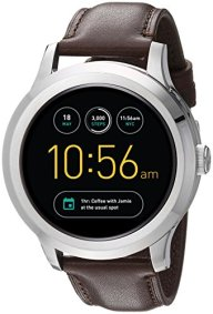 Fossil Q Founder Gen 2 Dark Brown Leather Touchscreen Smartwatch FTW2119