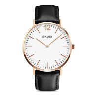Men's Simple Analog Watch, Aposon Fashion Classic Business Casual Quartz Wrist Watch Luxury Leather Band Cool Dress Watches Water Resistant Black