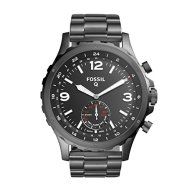 Fossil Hybrid Smartwatch – Q Nate Smoke Stainless Steel FTW1160