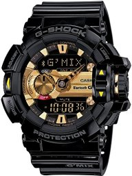 CASIO watch G-SHOCK smartphone link model G'MIX GBA-400-1A9JF Men's