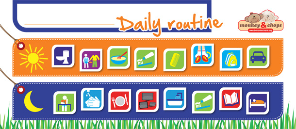 Daily Routine Chart - Help Your Family Get Organised