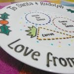 Christmas Eve Plate by Lovingly Crafted