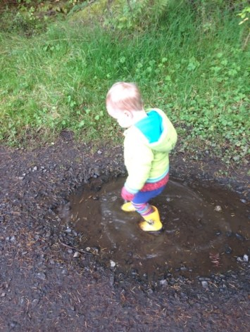 toddler puddle