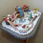 Christmas Train Small World