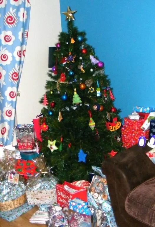 Christmas tree toddler