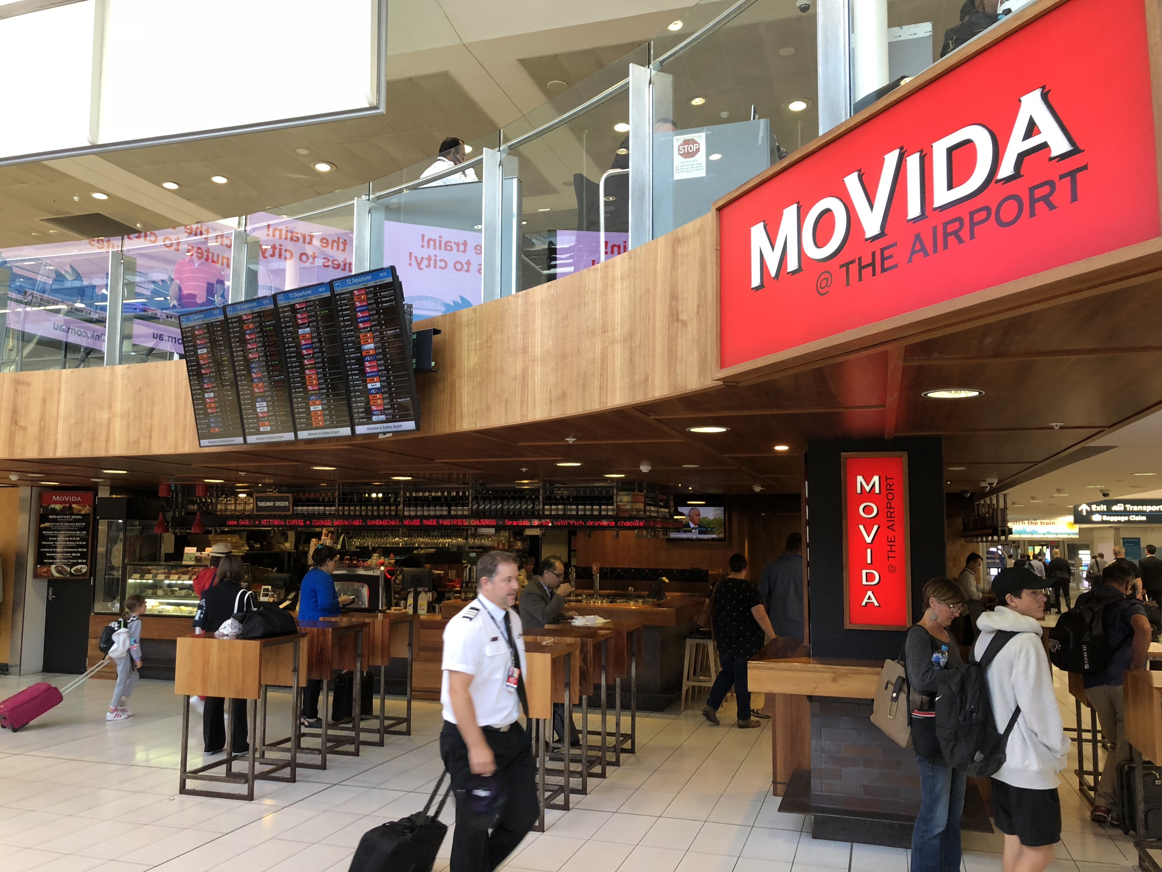 Sydney Airport Shops First Time Using My Priority Pass At A Restaurant Sydney Airport