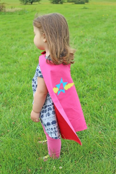 Set imagination free with custom, personalised children's capes