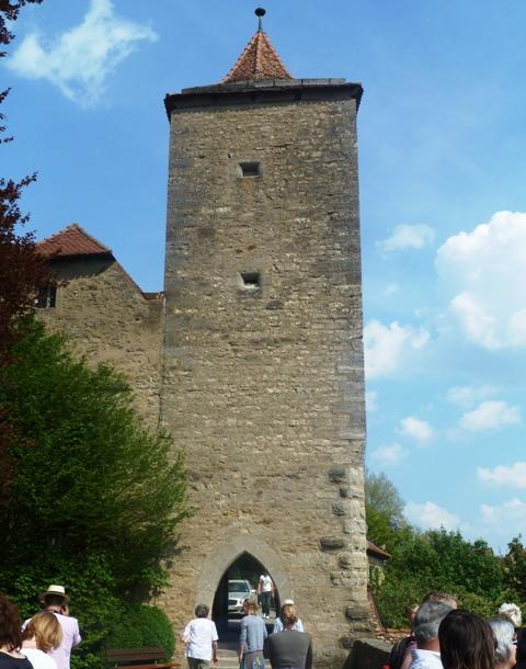 rothenburg photos tower