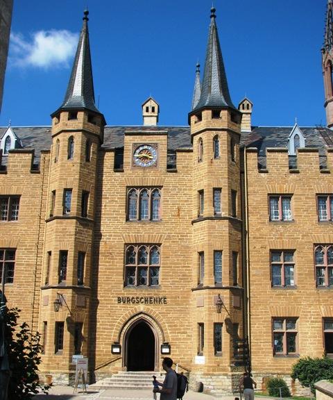 Hohenzollern Castle in Baden-Württemberg, Germany