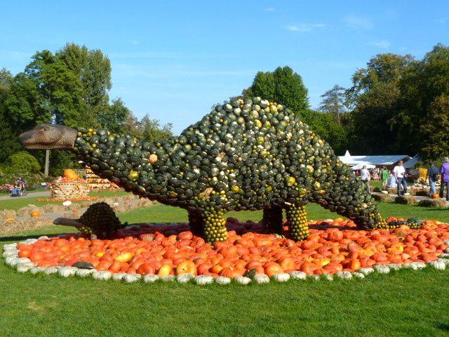 Pumpkin festival in Ludwigsburg Baden-Württemberg, Germany