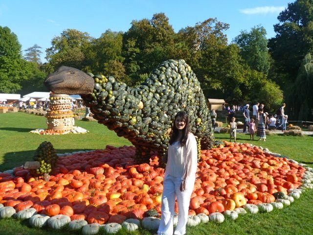 Pumpkin festival ludwigsburg in Baden-Württemberg, Germany