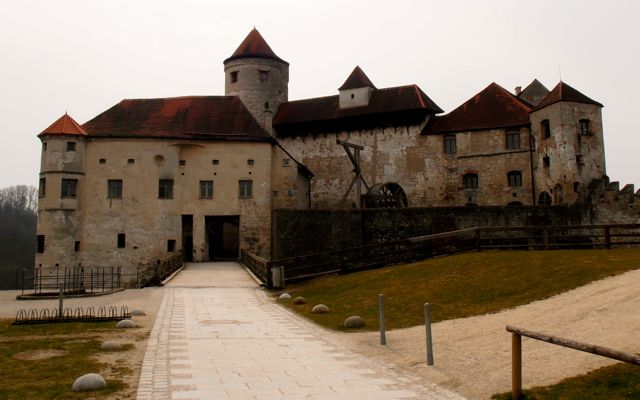 Burghausen Castle, the longest castle in Europe, just over 100km from Munich