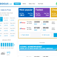 Amadeus: A New Flight Comparison and Trip Planner Website