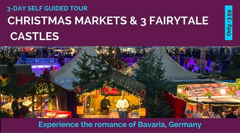 German Christmas markets and king ludwig castle tour Bavaria Germany