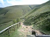 Track Jacob39s Ladder Edale Mountain Biking In The