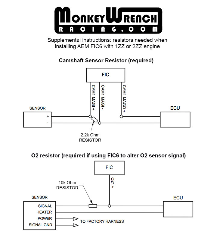 aem fic wiring harness 6