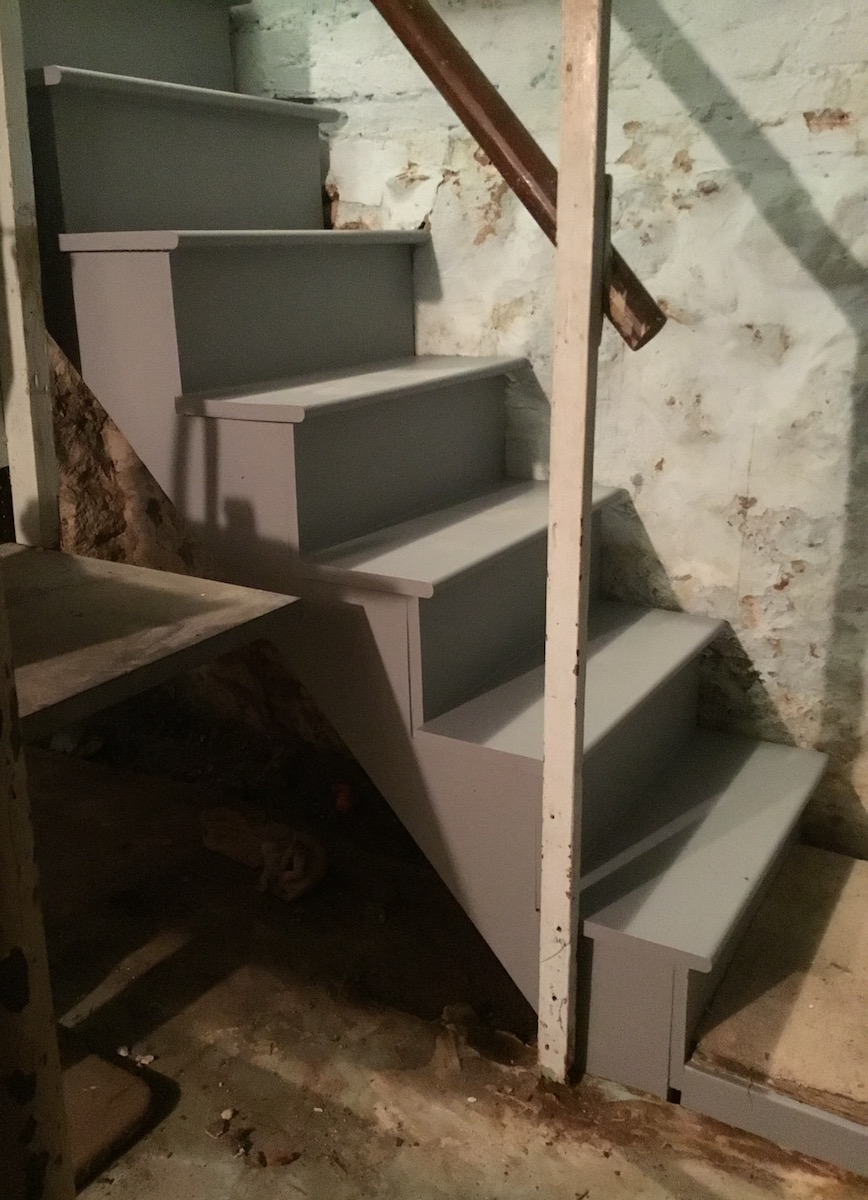 Basement Stair Replacement In Chatham Nj Monks Home