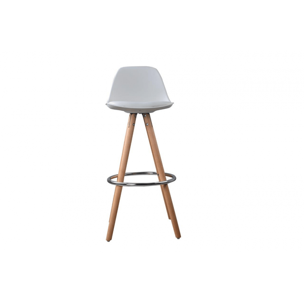 Set De 2 Tabourets De Bar Lot De 2 Tabourets De Bar Design Scandinave Nordique