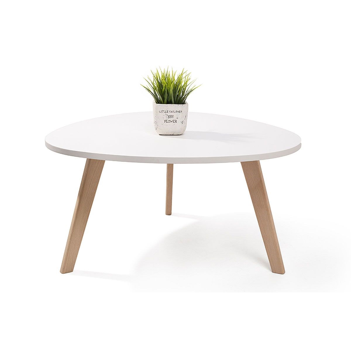 Table Basse Blanche Scandinave Table Basse Scandinave Alta