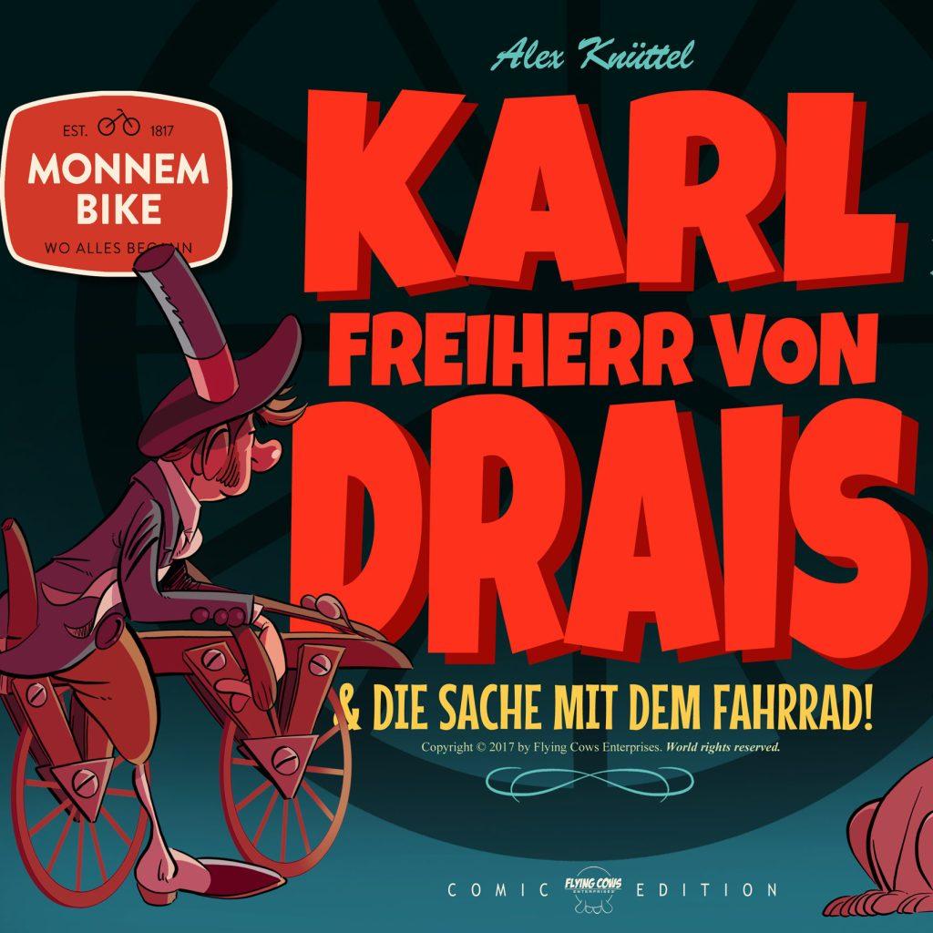 Karl Drais Comic 1
