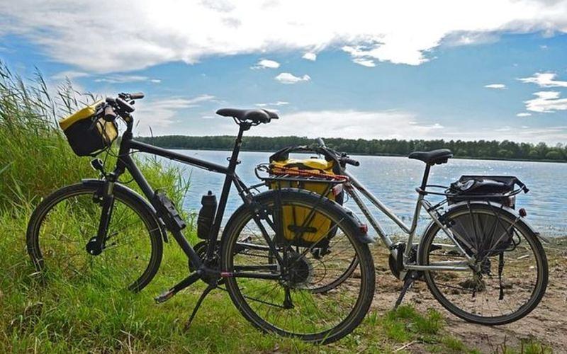 Literarische entspannte Radtour im Waldpark2