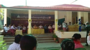 The Opening and Handing Over Ceremony of Nyisar New School Buildings(Facebook)