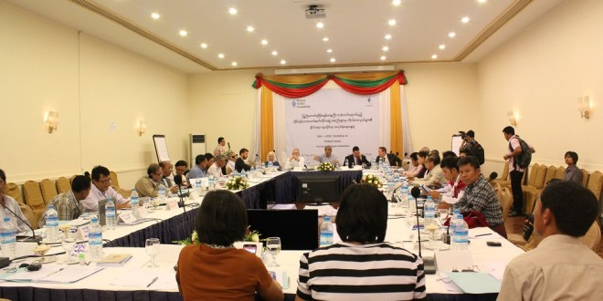 Ethnic group representatives attending the political workshop (Photo: Aik Sai/MNA)