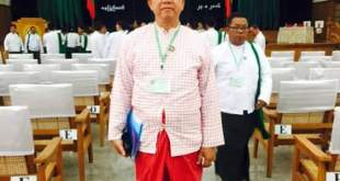 U Aung Kyi Thein appointed Mon State's USDP Chairman