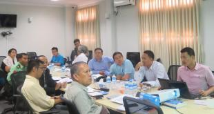 Meeting of the national level political talk's TOR drafting work group (Photo: Hla Maung Shwe).
