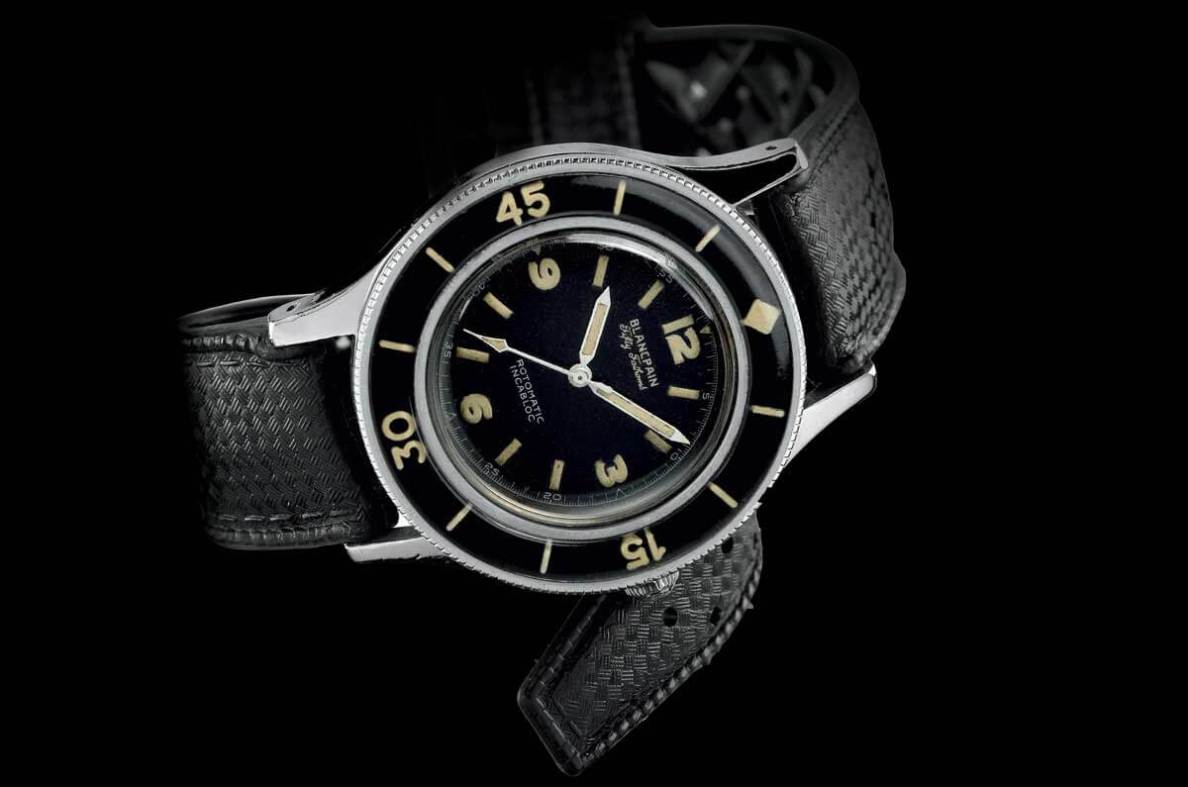 Cousteau and the Calypso Team's watches Blancpain_Fifty_Fathoms_1953.jpg?zoom=1
