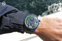 Event report – Life of a (first-time) sailor – with a HYT H1 Air RC44 strapped on the wrist