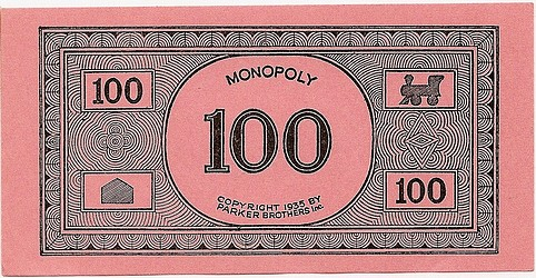 A VERY NICE 1935 MONOPOLY GAME, SINGLE PATENT 1,509,312