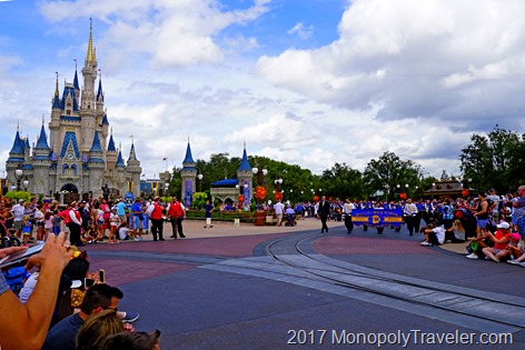Marching at the Magic Kingdom