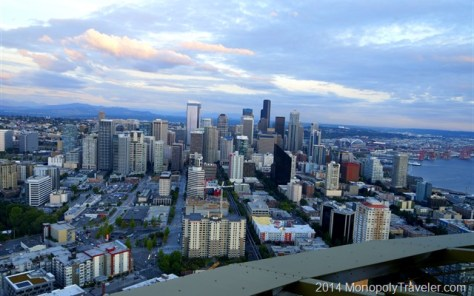 Seattle Near Sunset