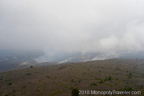 Top of the Kileaua Volcanoe