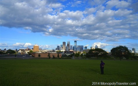 An Early Summer Evening Shot of Minneapolis
