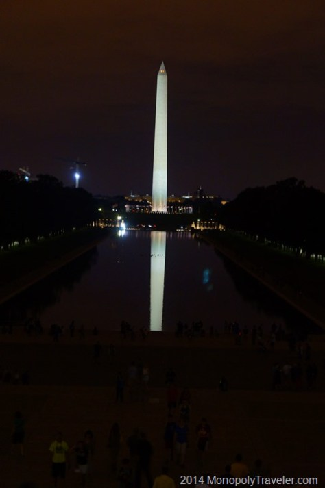 Reflection Pool at the Base of the Lincoln Memorial