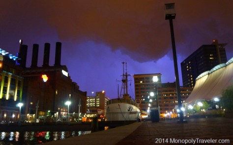 Lightning Over Baltimore