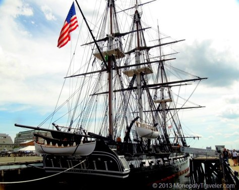 The USS Constitution - 'Old Ironsides'