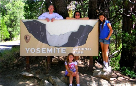 The Second Yosemite Entrance Sign