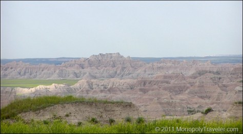First Sights of the Badlands